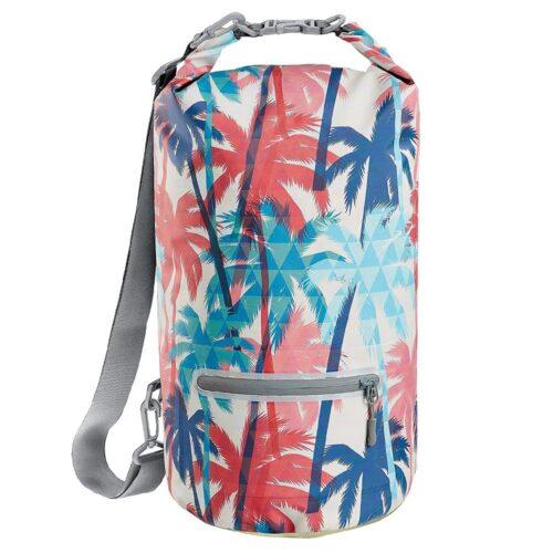 beach printing dry bag
