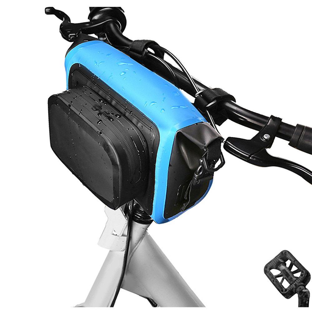 waterproof handlebar bag