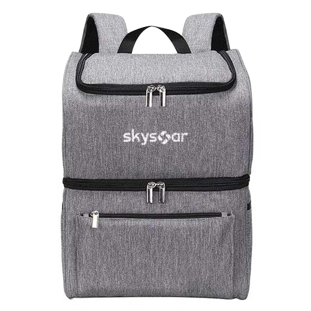 dual-layer cooler backpack